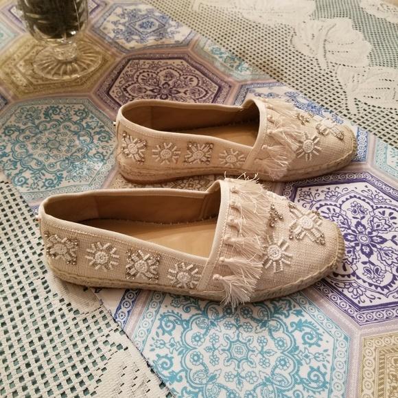ANTONIO MELANI Shoes - Antonio Melani Fringed Flats